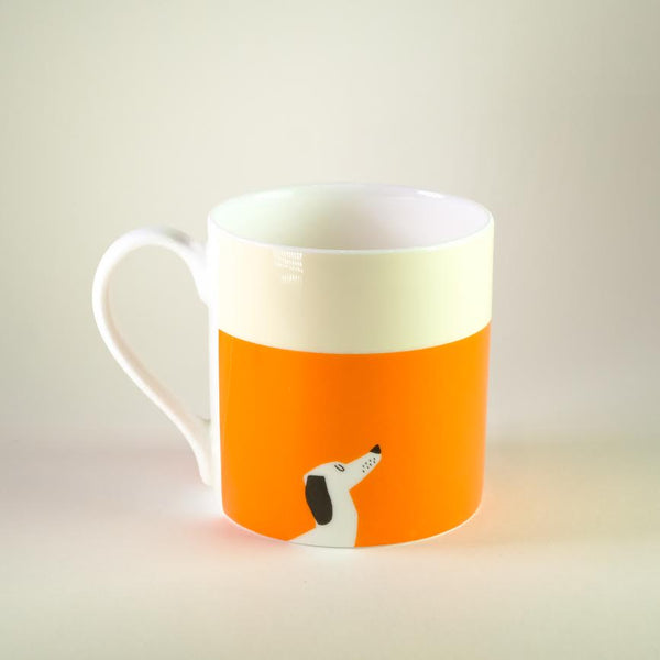 'Happiness is Having a Dog' Bone China Mug.