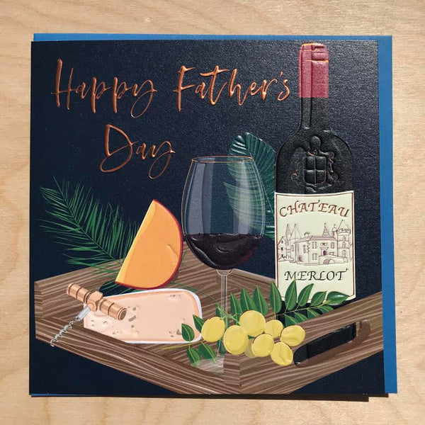 Father's Day  Card By Belly Button.