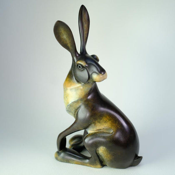 Special Limited Edition Bronze Hare by David Meredith.