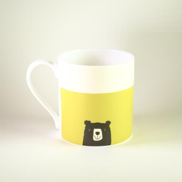 'Be Nice, Be Happy' Bone China Mug.