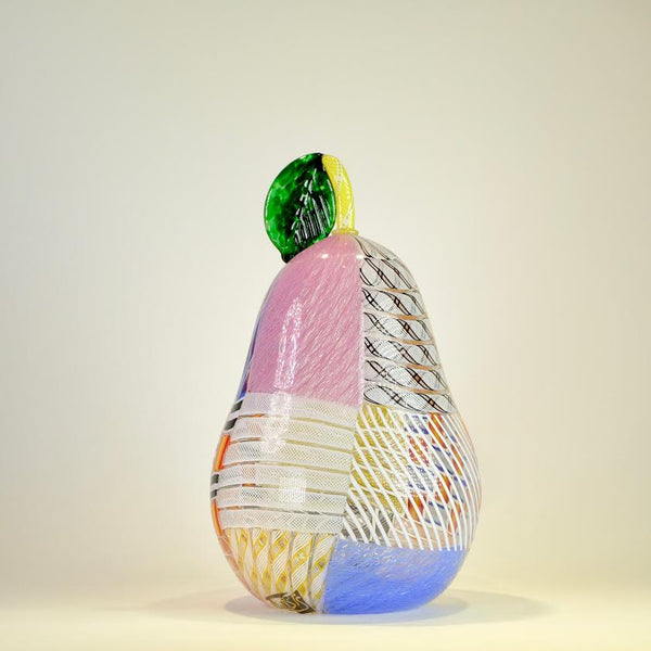 Glass Patch Pear by Michael Hunter for Twists Glass.