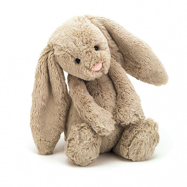 Medium Jellycat Beige Bashful Bunny.