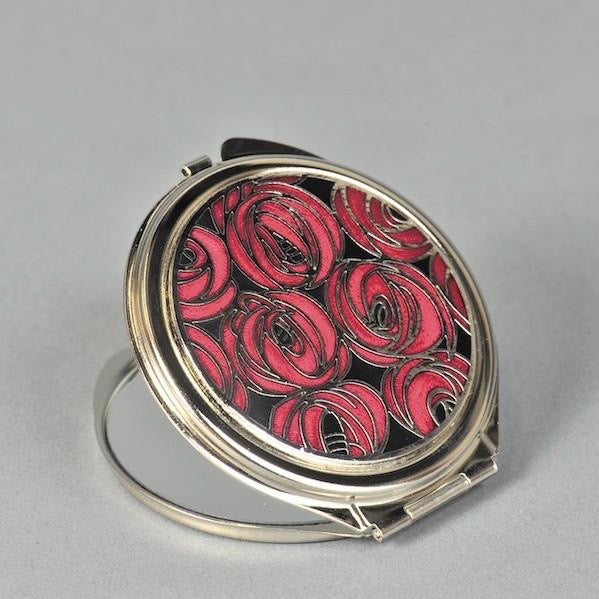 Mackintosh Style Rose Compact Mirror