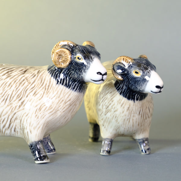 Ceramic 'Sheep' Salt and Pepper Set by Quail