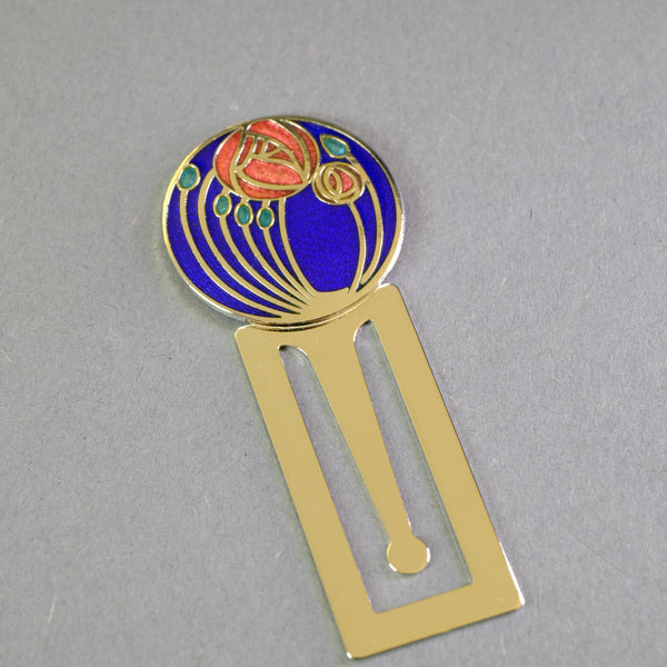 Mackintosh Inspired Enamel Bookmark.