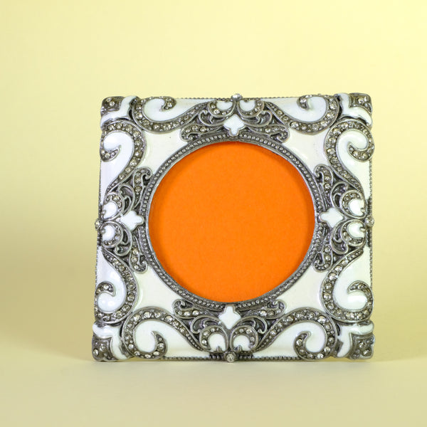 Jewelled and Enamelled Photograph Frame