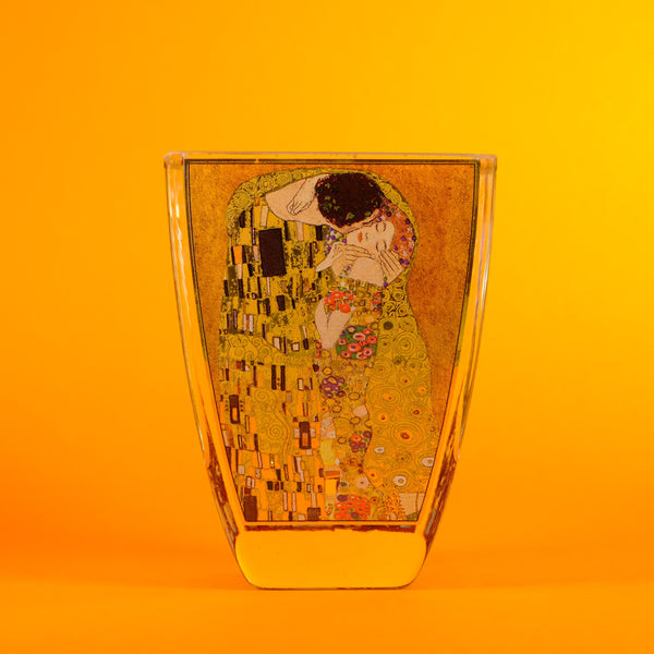Klimt Design Glass Tea light Holder