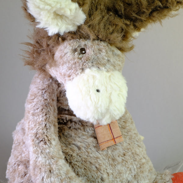 Moulin Roty - Jojo the Donkey Soft Toy.
