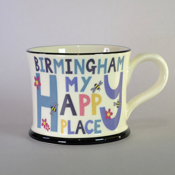 'Birmingham is my Happy Place' Mug.