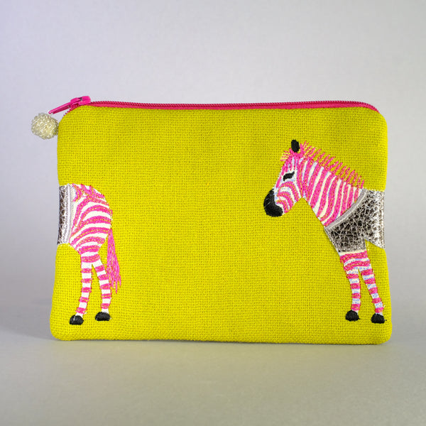 Zebra Make up Bag.