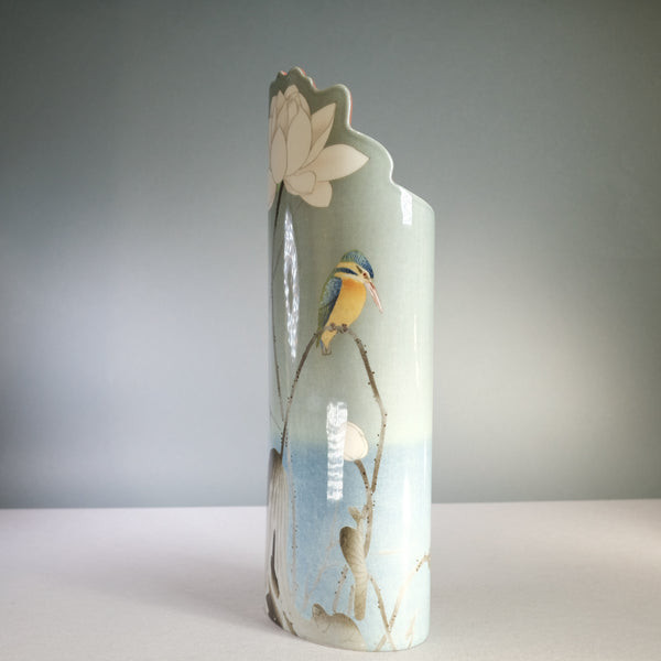Koson 'Kingfisher' Design Vase.