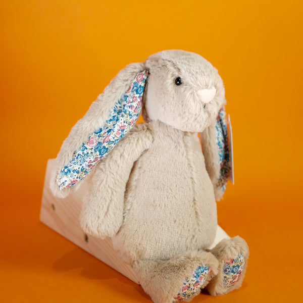 Jellycat Small Blossom Beige Bunny.