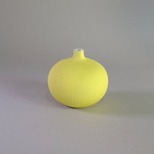 Mini Scandi Pot - Bari Matt yellow.