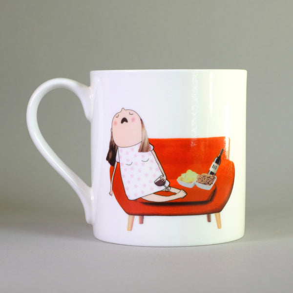'She Believed She Could' by Rosie Made a Thing Bone China Mug.