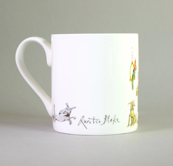 'Animal Lover' by Quentin Blake Bone China Mug.