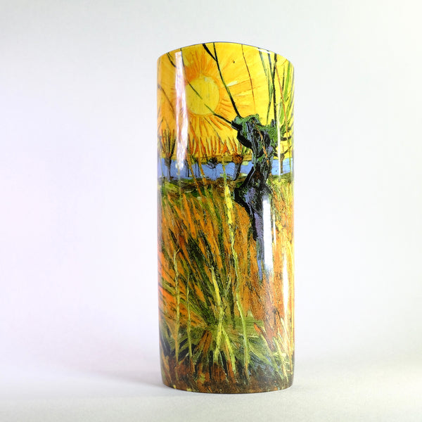 Van Gogh Pollard Willows Design Vase.