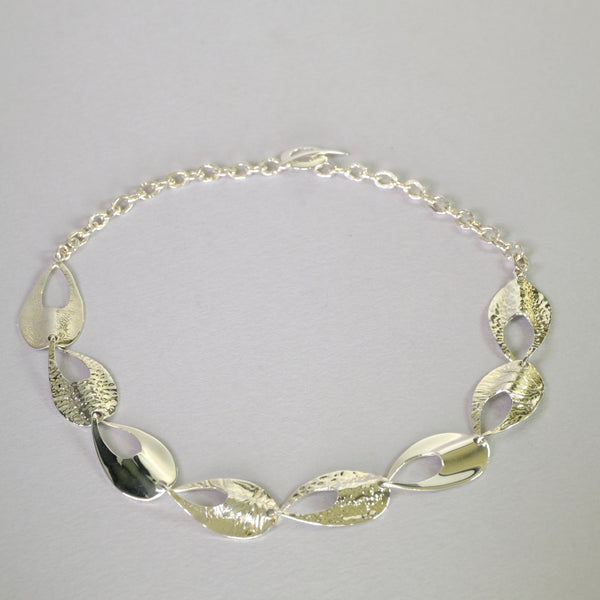 Sterling Silver Statement Necklace.