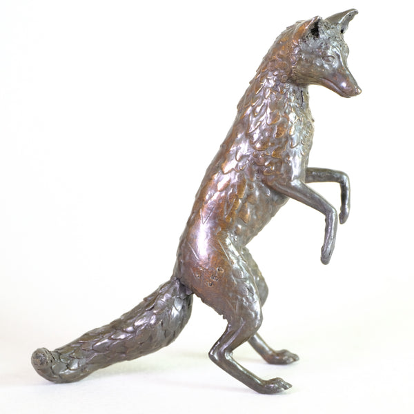 Bronze Standing Fox by Steve Boss