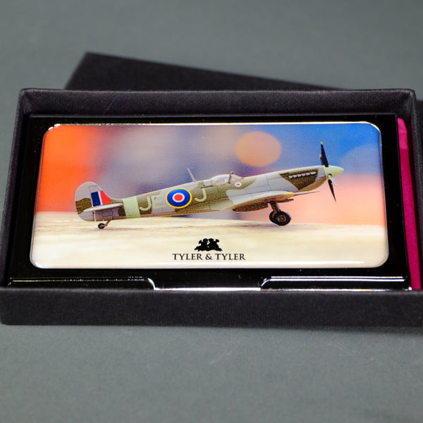 Spitfire Business Card Holder