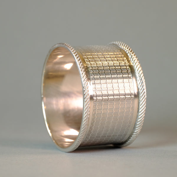Single Vintage Silver Napkin Ring, Hallmarked 1930