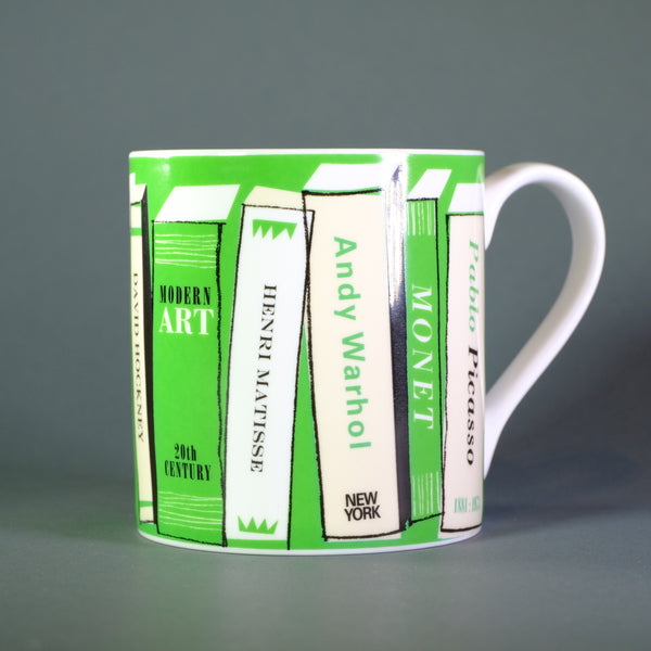 'Art Books' Bone China Mug.