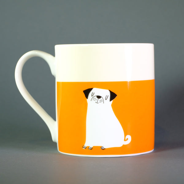 'Love Me, Love my Dog' Bone China Mug.
