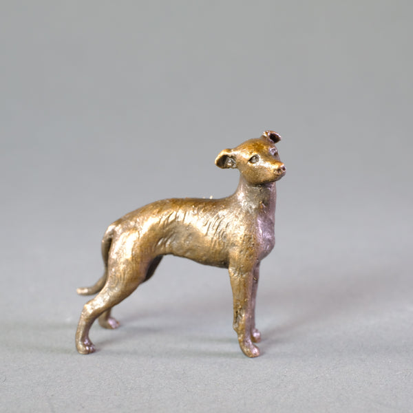 'Lurcher' Miniature Bronze.