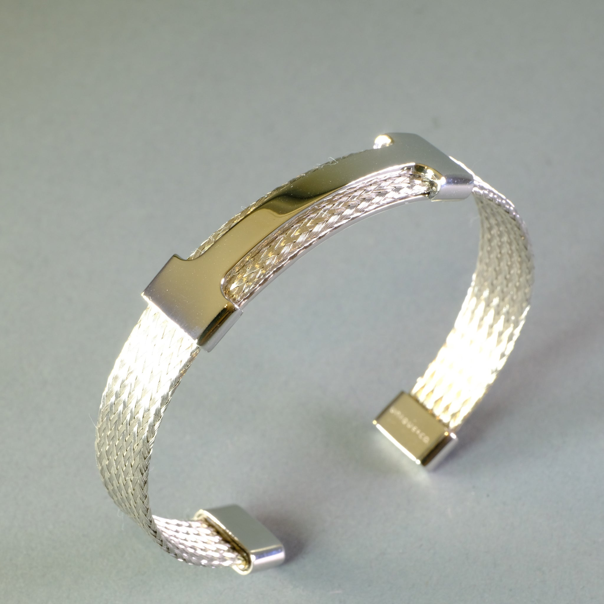 Gents Stainless Steel Bangle by 'Unique Designs'