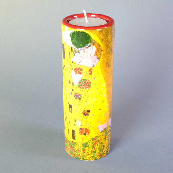 Klimt 'The Kiss' Design Tea Light Holder