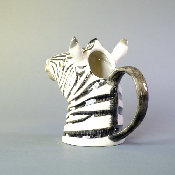 Ceramic 'Zebra' Jug by Quail