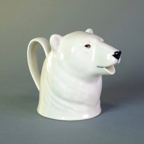 Ceramic 'Polar Bear' Jug by Quail