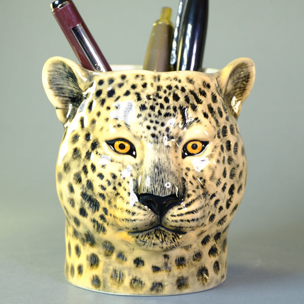 Ceramic 'Leopard' Pot by Quail.