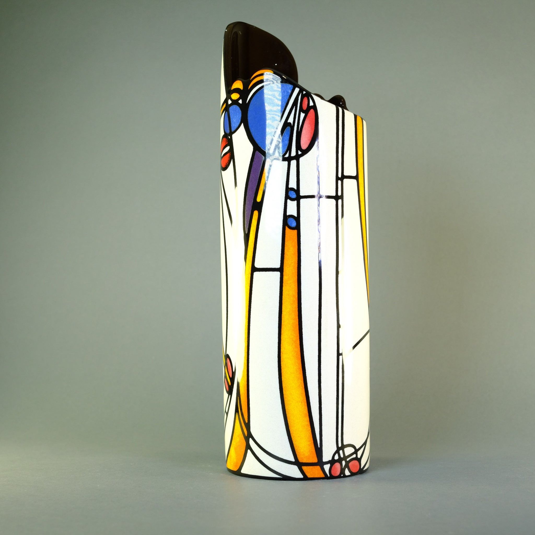 Charles Rennie Mackintosh Design Vase.