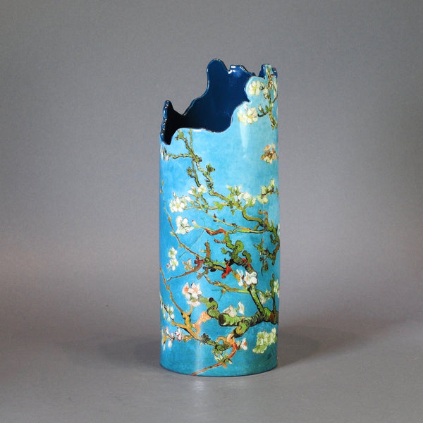 Van Gogh Almond Tree Design Vase.