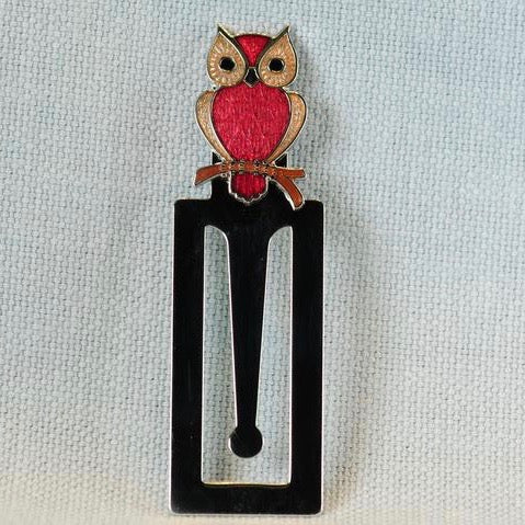 Enamel Owl Bookmark