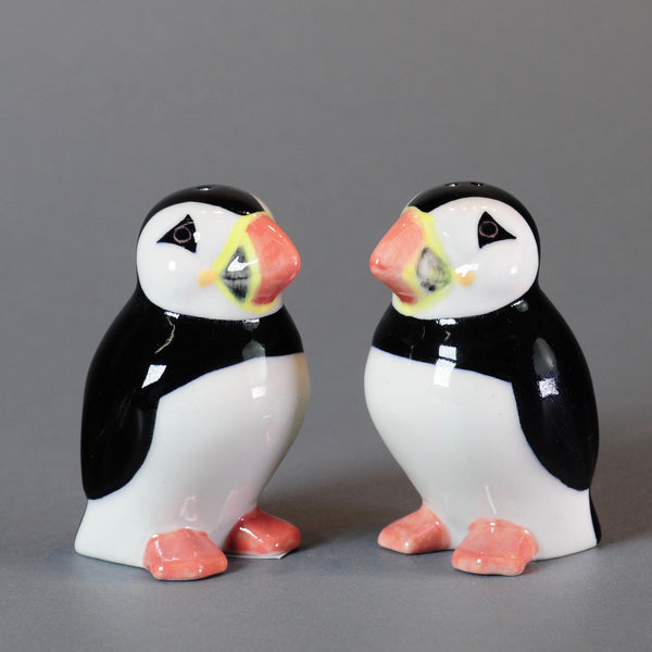 Ceramic 'Puffin' Salt and Pepper Set by Quail