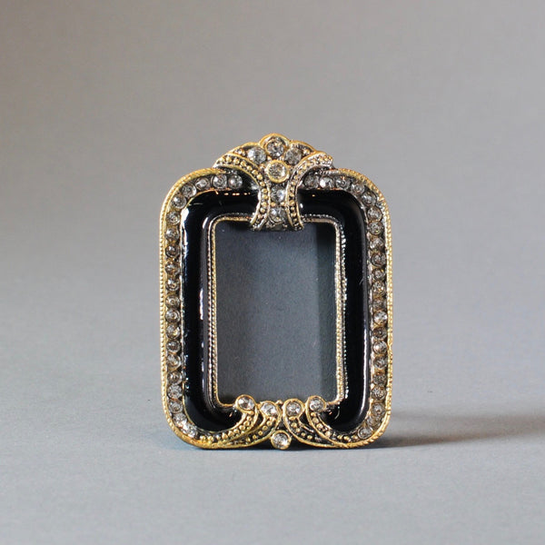Mini Jewelled and Enamelled Photograph Frame