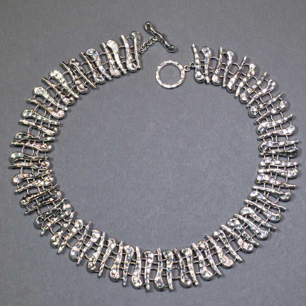 Statement Silver Necklace