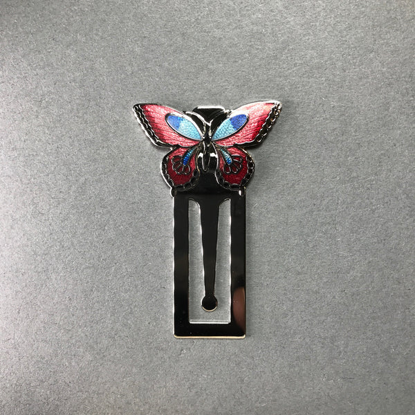 Enamel Butterfly Bookmark