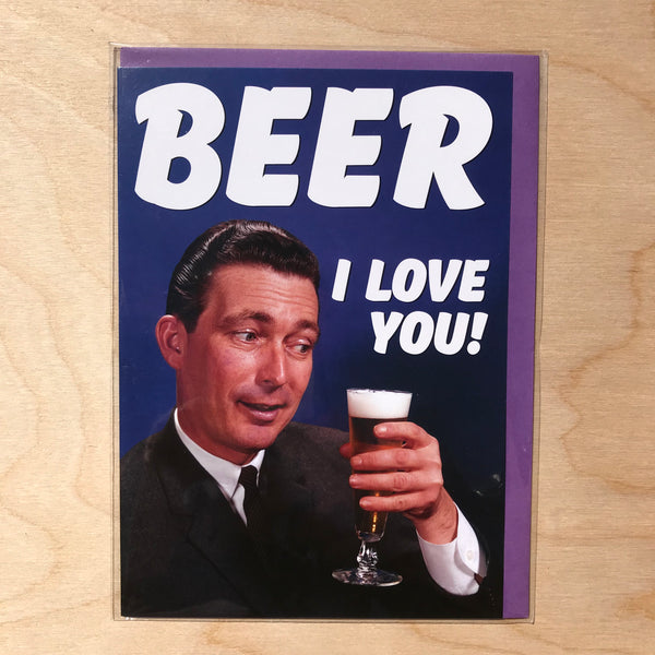 Humorous Greetings Card.