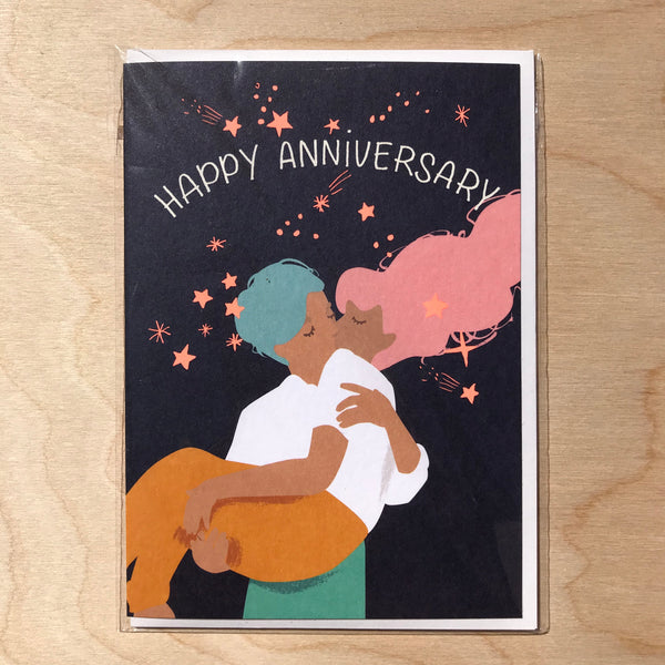 ' Happy Anniversary'  Card.