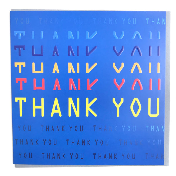 Thank you Card by Rosanna Rossi