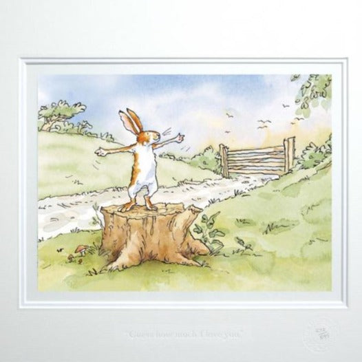 'Guess How Much I love You' Framed Limited Edition Print by Anita Jeram.