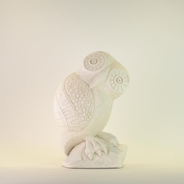 Revival Arts Gypsum Owl.