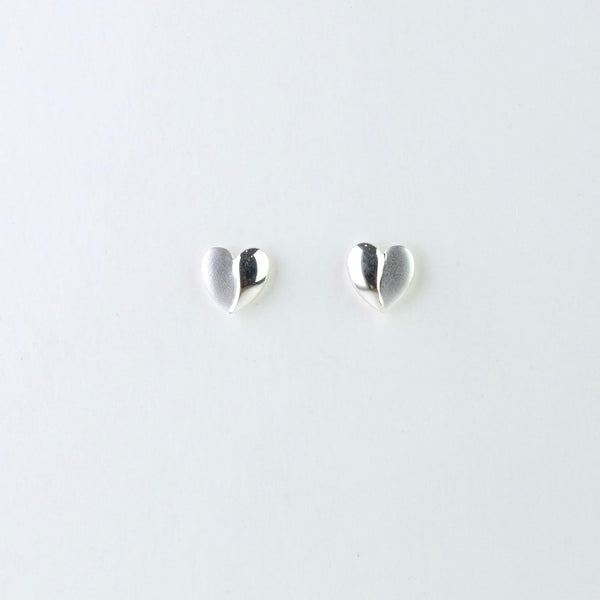Sweetheart Stud Earrings by JB Designs.