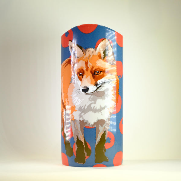 Beswick 'Fox' Design Vase.