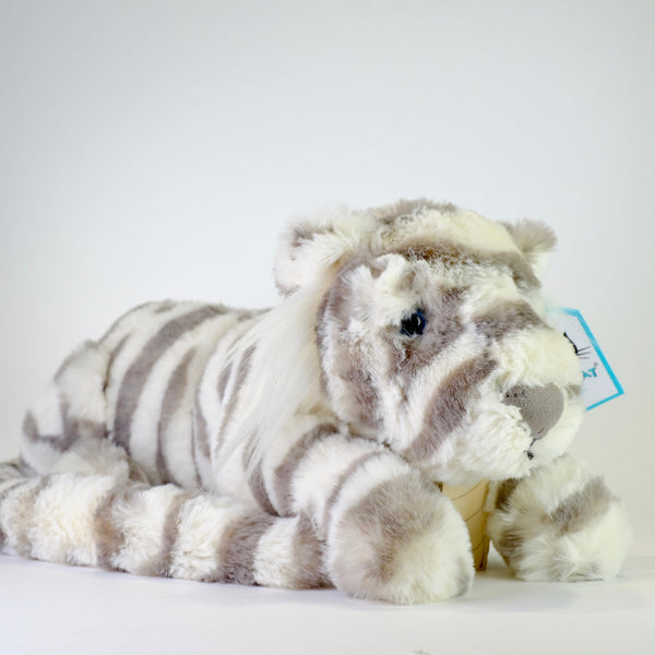 Jellycat Little Sacha Snow Tiger.