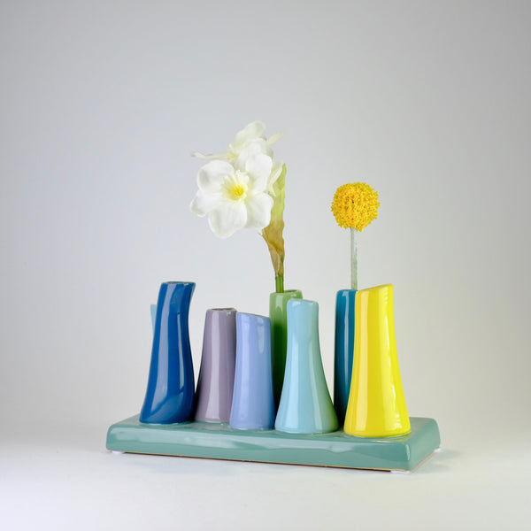 Ceramic Buttercup 'Chimney Vase'