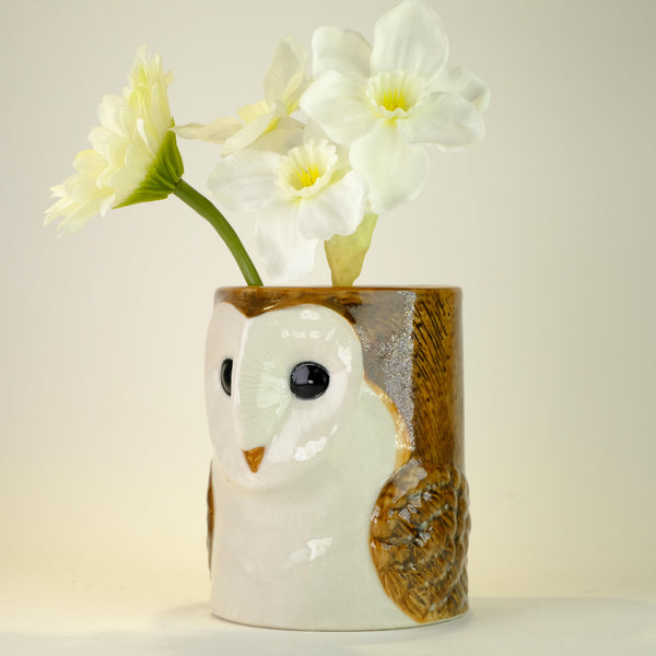 Ceramic 'Owl' Pot.