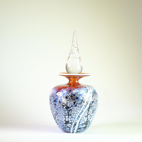 'Sunset' Scent Bottle by Martin Andrews